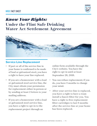Know-your-rights-flint-safe-drinking-water-settlement-fs